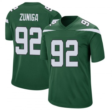 Youth Nike New York Jets Jabari Zuniga Gotham Green Jersey - Game