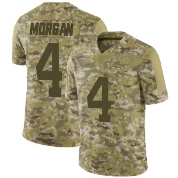 Youth Nike New York Jets James Morgan Camo 2018 Salute to Service Jersey - Limited