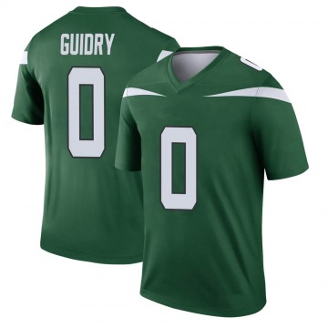 Youth Nike New York Jets Javelin Guidry Gotham Green Player Jersey - Legend