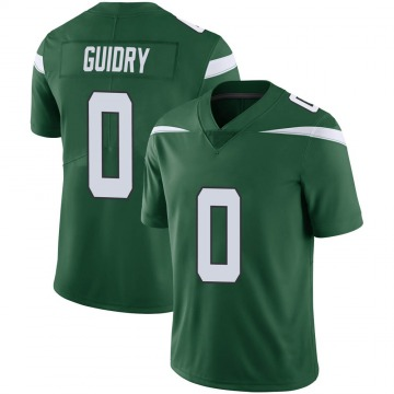Youth Nike New York Jets Javelin Guidry Gotham Green Vapor Jersey - Limited