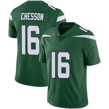 Youth Nike New York Jets Jehu Chesson Gotham Green Vapor Jersey - Limited