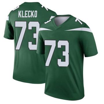 Youth Nike New York Jets Joe Klecko Gotham Green Player Jersey - Legend