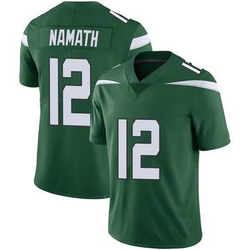 Youth Nike New York Jets Joe Namath Green 100th Vapor Jersey - Limited