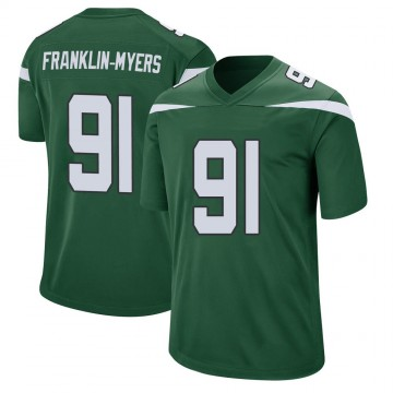 Youth Nike New York Jets John Franklin-Myers Gotham Green Jersey - Game