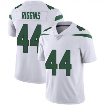 Youth Nike New York Jets John Riggins Spotlight White Vapor Jersey - Limited