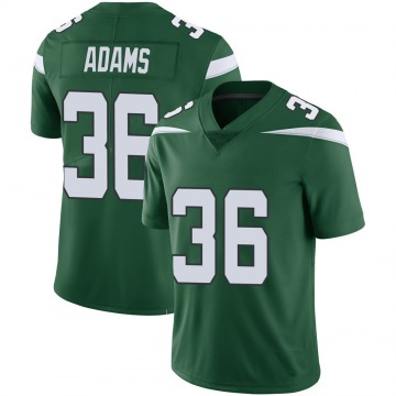 Youth Nike New York Jets Josh Adams Green 100th Vapor Jersey - Limited