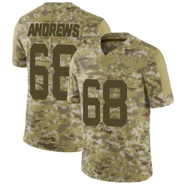 Youth Nike New York Jets Josh Andrews Camo 2018 Salute to Service Jersey - Limited