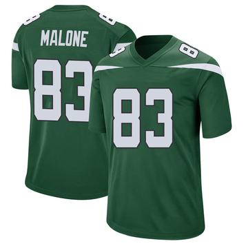 Youth Nike New York Jets Josh Malone Gotham Green Jersey - Game