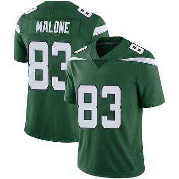 Youth Nike New York Jets Josh Malone Green 100th Vapor Jersey - Limited