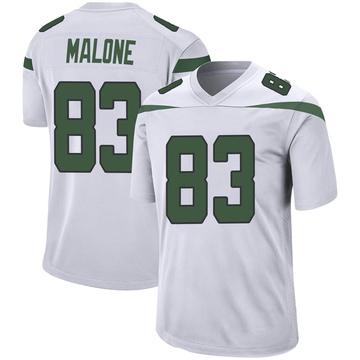 Youth Nike New York Jets Josh Malone Spotlight White Jersey - Game