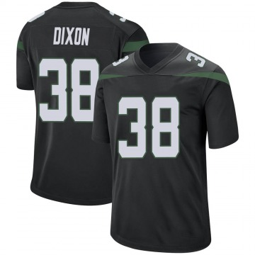 Youth Nike New York Jets Kenneth Dixon Stealth Black Jersey - Game