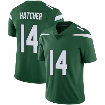 Youth Nike New York Jets Keon Hatcher Green 100th Vapor Jersey - Limited