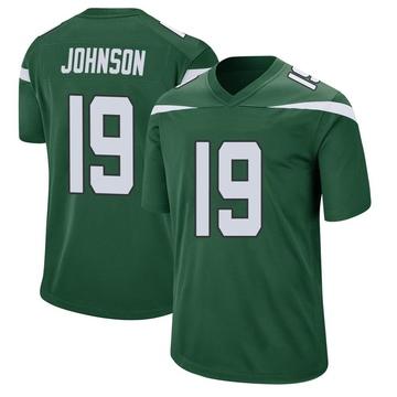 Youth Nike New York Jets Keyshawn Johnson Gotham Green Jersey - Game