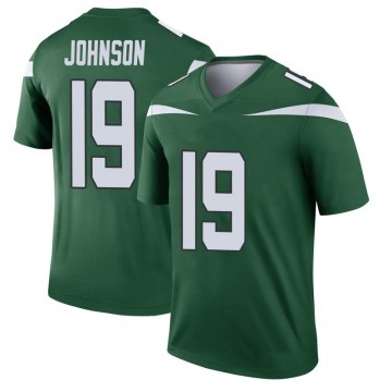 Youth Nike New York Jets Keyshawn Johnson Gotham Green Player Jersey - Legend