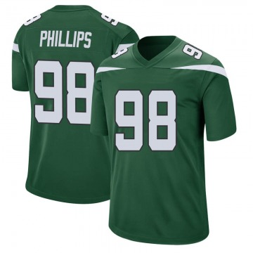 Youth Nike New York Jets Kyle Phillips Gotham Green Jersey - Game