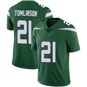 Youth Nike New York Jets LaDainian Tomlinson Green 100th Vapor Jersey - Limited