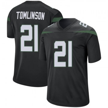 Youth Nike New York Jets LaDainian Tomlinson Stealth Black Jersey - Game
