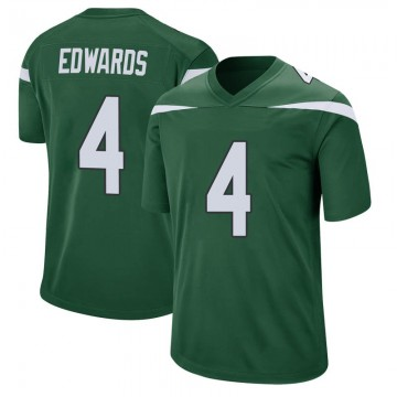 Youth Nike New York Jets Lachlan Edwards Gotham Green Jersey - Game