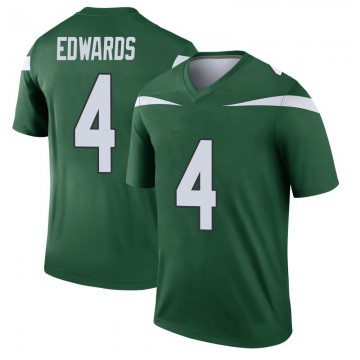 Youth Nike New York Jets Lachlan Edwards Gotham Green Player Jersey - Legend