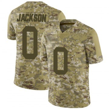 Youth Nike New York Jets Lamar Jackson Camo 2018 Salute to Service Jersey - Limited
