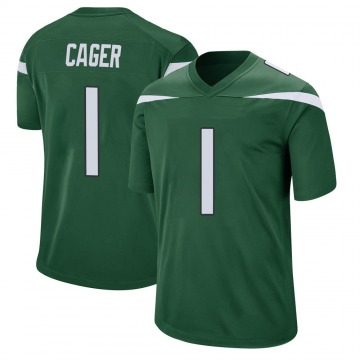 Youth Nike New York Jets Lawrence Cager Gotham Green Jersey - Game