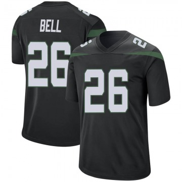 Youth Nike New York Jets Le'Veon Bell Stealth Black Jersey - Game