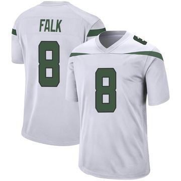 Youth Nike New York Jets Luke Falk Spotlight White Jersey - Game