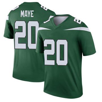 Youth Nike New York Jets Marcus Maye Gotham Green Player Jersey - Legend