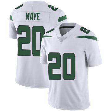 Youth Nike New York Jets Marcus Maye Spotlight White Vapor Jersey - Limited