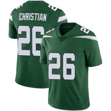 Youth Nike New York Jets Marqui Christian Gotham Green Vapor Jersey - Limited