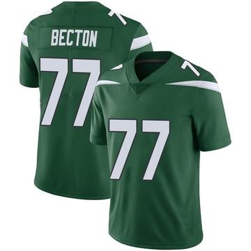 Youth Nike New York Jets Mekhi Becton Gotham Green Vapor Jersey - Limited