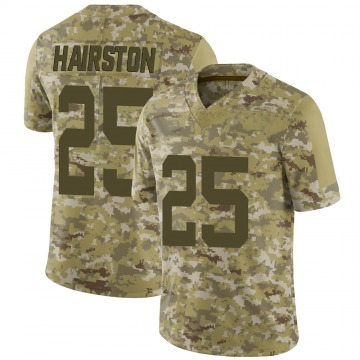 Youth Nike New York Jets Nate Hairston Camo 2018 Salute to Service Jersey - Limited