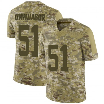 Youth Nike New York Jets Patrick Onwuasor Camo 2018 Salute to Service Jersey - Limited