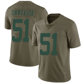 Youth Nike New York Jets Patrick Onwuasor Green 2017 Salute to Service Jersey - Limited