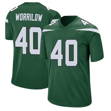 Youth Nike New York Jets Paul Worrilow Gotham Green Jersey - Game