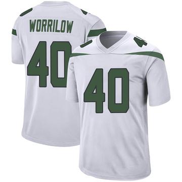 Youth Nike New York Jets Paul Worrilow Spotlight White Jersey - Game