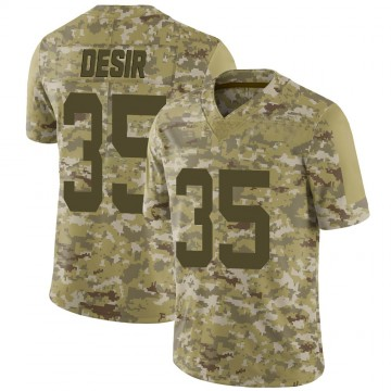 Youth Nike New York Jets Pierre Desir Camo 2018 Salute to Service Jersey - Limited