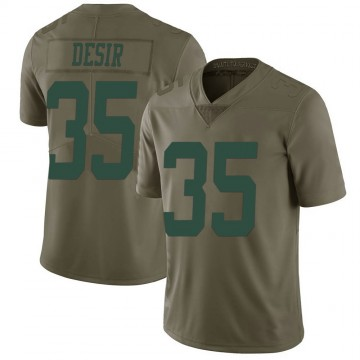 Youth Nike New York Jets Pierre Desir Green 2017 Salute to Service Jersey - Limited