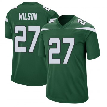 Youth Nike New York Jets Quincy Wilson Gotham Green Jersey - Game