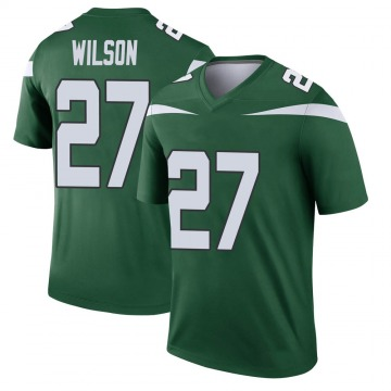Youth Nike New York Jets Quincy Wilson Gotham Green Player Jersey - Legend