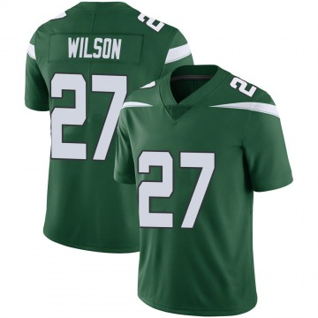 Youth Nike New York Jets Quincy Wilson Gotham Green Vapor Jersey - Limited