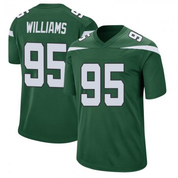 Youth Nike New York Jets Quinnen Williams Gotham Green Jersey - Game