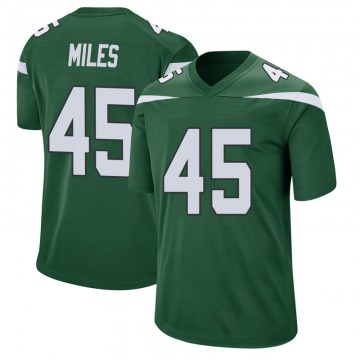 Youth Nike New York Jets Rontez Miles Gotham Green Jersey - Game