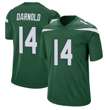 Youth Nike New York Jets Sam Darnold Gotham Green Jersey - Game