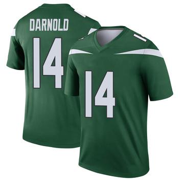 Youth Nike New York Jets Sam Darnold Gotham Green Player Jersey - Legend