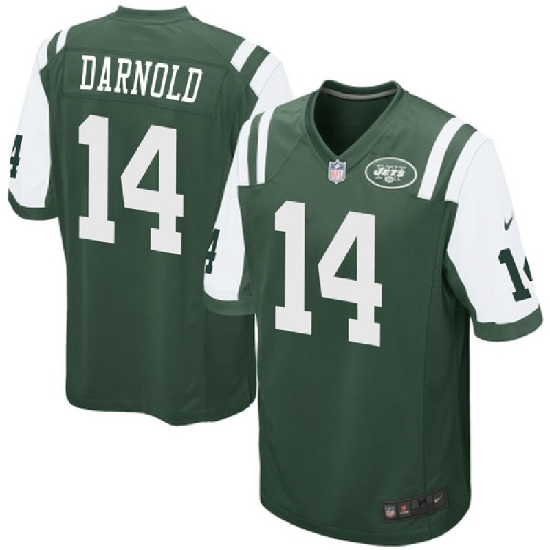 new arrival 1b5eb cbad9 Youth Nike New York Jets Sam Darnold Green Team Color Jersey - Game
