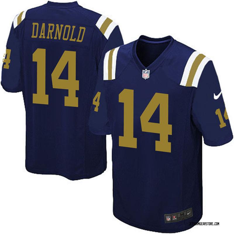 online retailer 144c1 d6687 Youth Nike New York Jets Sam Darnold Navy Blue Alternate Jersey - Game
