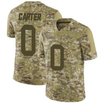 Youth Nike New York Jets Shyheim Carter Camo 2018 Salute to Service Jersey - Limited