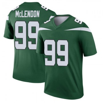 Youth Nike New York Jets Steve McLendon Gotham Green Player Jersey - Legend