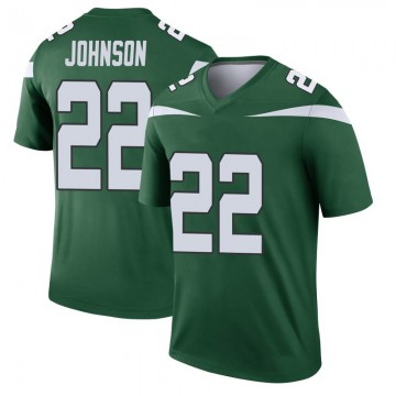 Youth Nike New York Jets Trumaine Johnson Gotham Green Player Jersey - Legend